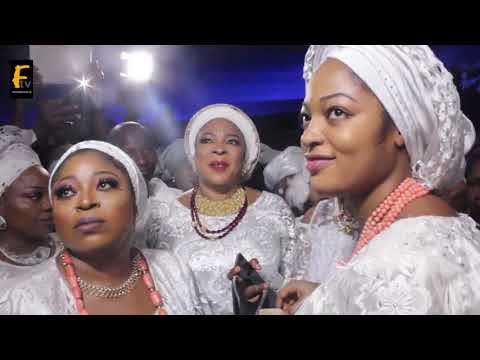 Watch As Beautiful Olori Ooni Of Ife Dance Happily With Princess Toyin Kolade  As She Facilitate