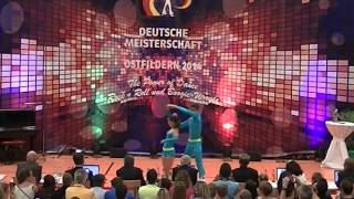 Lisa Stufler & Anton Zinsmeister - Deutsche Meisterschaft 2014