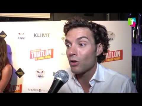 """Antonio Rossi presenta """"Triatlón. Tú también puedes""""."""