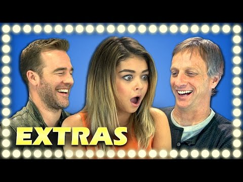 celebrities - Watch the main video: http://goo.gl/LsQRoP NEW Vids Sun, Thur & Sat! Subscribe: http://bit.ly/TheFineBros Please share this video and subscribe to everyone! Watch all main React Episodes: http://go...