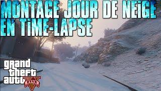 Montage l Jours de Neige en Accéléré (Time-Lapse) !
