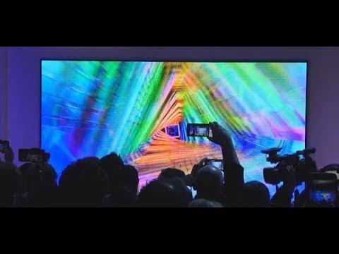 CES in Las Vegas: Fernseher in Kinoformat