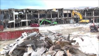Randall Park Mall  Demolition- April 9th 2015
