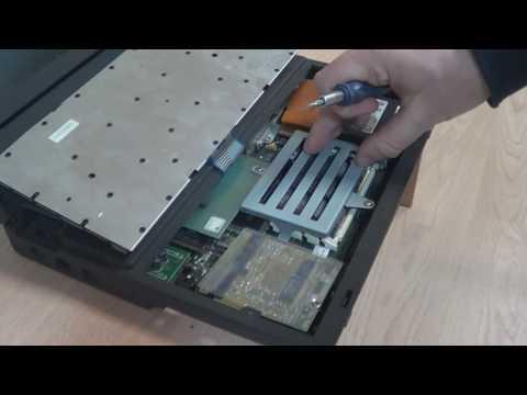 Старый 386sx ноутбук