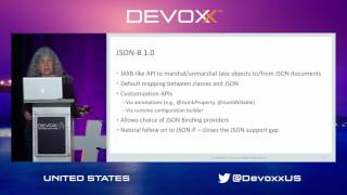 This session will present an update on work in progress on Java EE 8. We'll discuss changes in the focus of the Java EE 8 ...