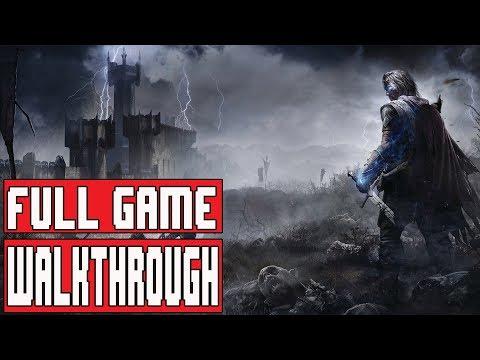 SHADOW OF MORDOR Full Game Walkthrough - Longplay No Commentary