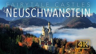 "Watch the original ""Fairytale Castles 4K"" video: http://bit.ly/29omiJXPlease Subscribe: http://bit.ly/1FxiVp2Please enjoy this additional (Ultra HD) aerial footage of Schloss Neuschwanstein in Bavaria, Germany. This extended edit of Neuschwanstein is derived from the popular video: ""Fairytale Castles 4k"" (http://bit.ly/29omiJX). Known as the fairy tale castle itself, King Ludwig had this castle built as homage to Richard Wagner. Later, the castle served as inspiration for Walt Disney's Sleeping Beauty Castle in Disneyland and other Disney theme parks. Today it stands amongst the most visited and visually stunning castles in Europe and the world. Schloss Neuschwanstein is located in  Hohenschwangau, near the town of Füssen in southern Bavaria, Germany.Special thanks to all the contributors and stock providers of this aerial drone footage. Filmed with DJI Phantom 3 and Phantom 4 UAV.Safe and happy travels from all of us at WeWannaGo TV.www.WeWannaGo.tvwww.EarthPornFilms.com"