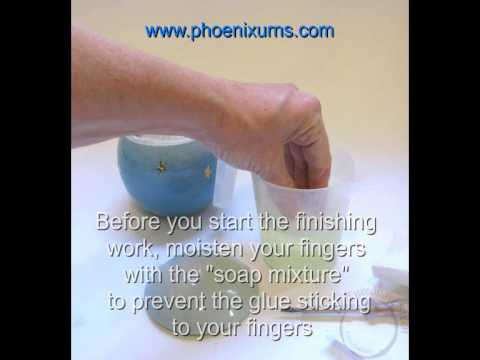 INSTRUCTION VIDEO   How to fill and close an urn with ashes from the crematorium
