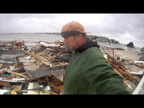 Hurricane Sandy Mantoloking Bridge 10.30.12