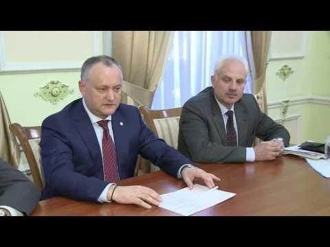 Președintele Republicii Moldova a avut o întrevedere cu Ambasadorul Rusiei în Republica Moldova, şi cu Emisarul special al MAE al Federației Ruse