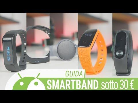 Migliore Smart Band sotto i 30 euro da TuttoAndroid