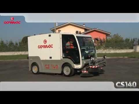 Spazzatrice stradale Comac CS140 Twin Action