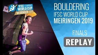 IFSC Climbing World Cup Meiringen 2019 - Bouldering Finals by International Federation of Sport Climbing