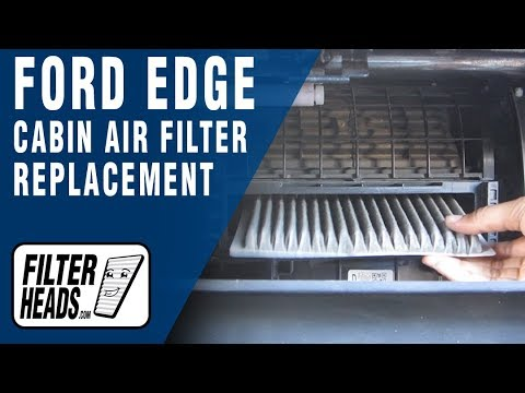 How To Replace Cabin Air Filter Ford Edge Jpg X Ford Edge Cabin Filter