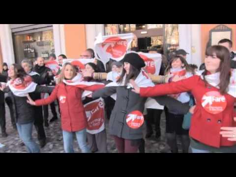 Fermare il declino - Flash mob