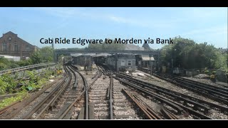 Cab Ride Edgware to Morden via Bank