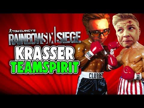 Rainbow Six Siege Deutsch - Krasser Teamspirit