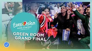 Video Reactions in the green room during the Grand Final of the 2018 Eurovision Song Contest MP3, 3GP, MP4, WEBM, AVI, FLV Maret 2019