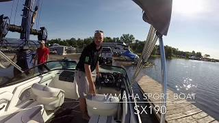 3. 2017 Yamaha SX190 Sport Boat - Why Yamaha Is Not Your Normal Jet Boat