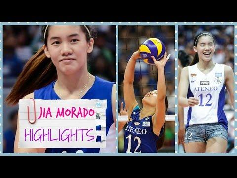 Jia MORADO Highlights - UAAP Best Setter 🏐