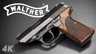 One of my favorite Walthers is the P5. One of my least favorite is the P38 it's based on. What makes the P5 so much better in my opinion? Lots of improvements, both functional and aesthetic, and the result is a fantastic 9mm pistol that I would heartily recommend to almost anybody except the most feverishly tactical operators. If my uncharitable opinion of the P38 didn't make you rage-unsubscribe, stay tuned for a 4K review of the incredible Walther P88 family in the next few weeks, and maybe the P99AS, too.**LINKS**A good overview by firydeth comparing the P5 to the P38:https://www.youtube.com/watch?v=c0Uf8cMTEpAHe also made a video on how to use P38 mags:https://www.youtube.com/watch?v=C5Op5MC8vNoMost information came from this excellent bookset and its out-of-print predecessor: https://shop.waltherarms.com/walther-a-german-success-story-coffee-table-book-set