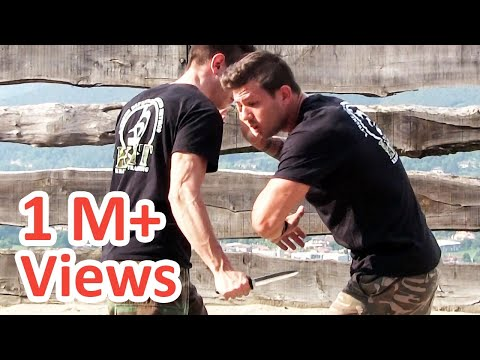 KRAV MAGA TRAINING • How to survive a Knife attack (part 2)