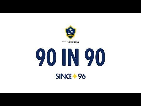 Video: 90 in 90: #LAvDAL