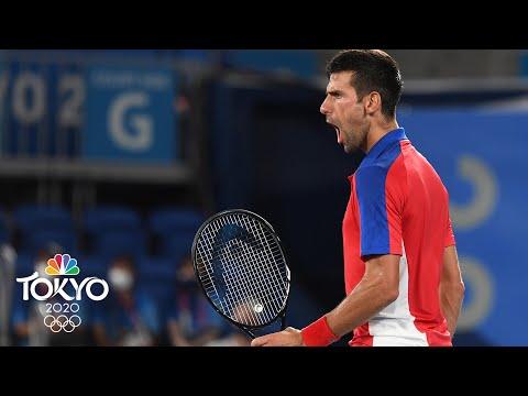 Novak Djokovic is untouchable -- world No. 1 rolls to Olympic semis | Tokyo Olympics | NBC Sports