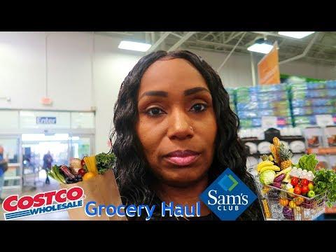 Grocery Haul Costco's vs Sams Club Vlog