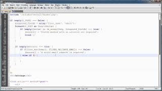 PHP Tutorials: Register&Login (Part 15): User Settings (Part 2)