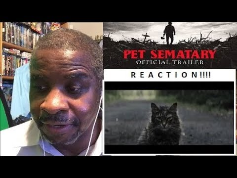 Pet Sematary 2019 1st Official Trailer Reaction