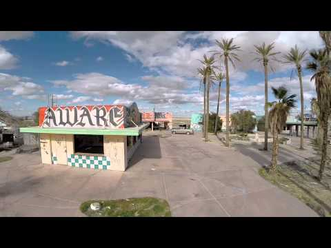 That abandoned stop on the way to Vegas used to be a water park