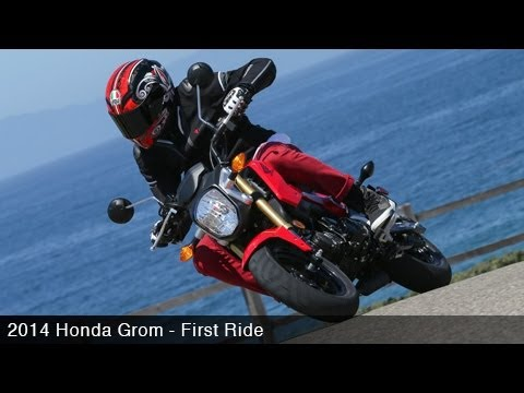 grom - MotoUSA takes a spin on one of this year's most anticipated motorcycles, the 2014 Honda Grom 125. Watch as we buzz around the California coast, and battle it...