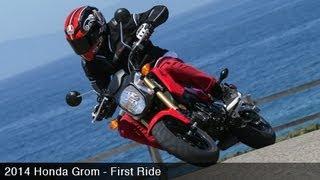 3. 2014 Honda Grom First Ride & Grom Prix w/ Justin Barcia - MotoUSA