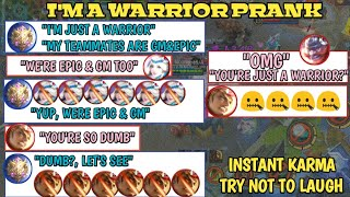 "Video MYTHIC-""I'M JUST A WARRIOR"" 
