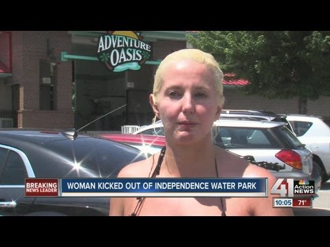 Woman Kicked Out Of Water Park For Swimsuit
