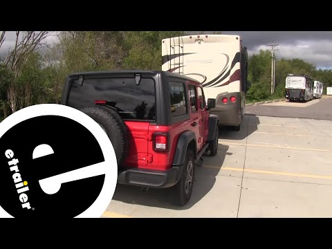 Demco Tail Light Wiring Kit Installation - 2018 Jeep JL Wrangler Unlimited - Etrailer.com