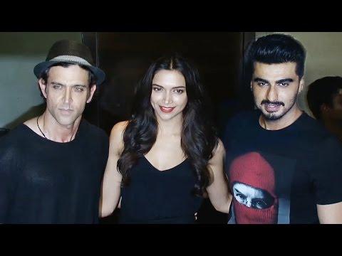Deepika, Arjun, Hrithik Attend The Star Studded Pr