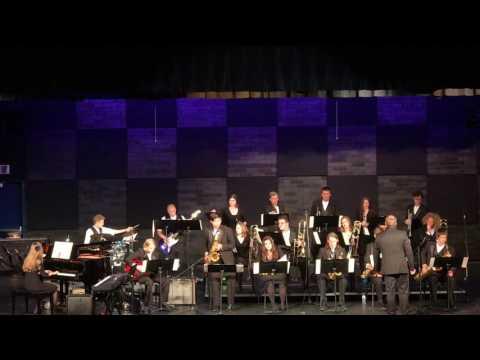2017 Hockinson HS Jazz Band - Dist Jazz Night - Cut to the Chase Pt. 1