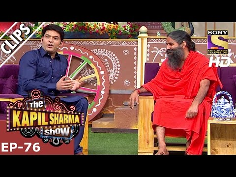 The Los Angeles story of Baba Ramdev – The Kapil Sharma Show - 22nd Jan 2017