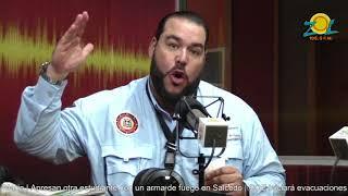 Victor Gomez Casanova llamado a huelga de los médicos y medidas preventivas huracán María