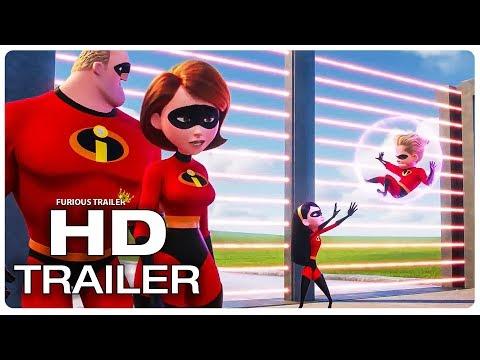 INCREDIBLES 2 Violet Bullies Dash Trailer (NEW 2018) Superhero Movie HD