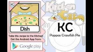 KC Poppas Crawfish Pie YouTube video