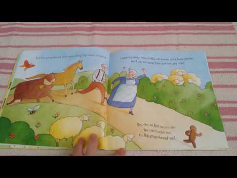 The Gingerbread Man, Usborne, favourite children's kids books, stories