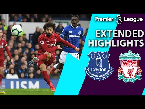 Everton V. Liverpool | PREMIER LEAGUE EXTENDED HIGHLIGHTS | 3/3/19 | NBC Sports