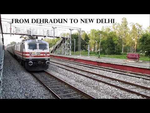 Dehradun Shatabdi 🚆 12018 train,Dehradun To New delhi Crosses Raiwala Junction