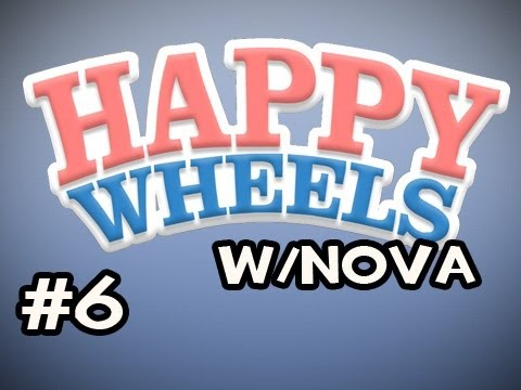 Happy Wheels w/Nova Ep.6 - Carnage In A Bus Video