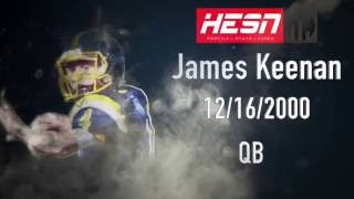James Keenan QB Class 2018 - OVFL 2016 Highlights