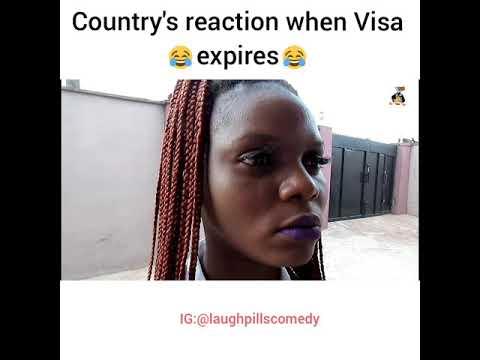 When Visa expires (LaughPillsComedy)
