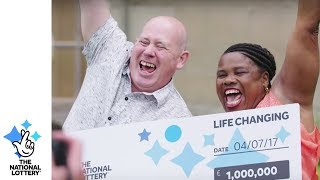 A married Coventry couple who work together as chefs are now able to cook up a luxurious retirement plan after winning £1M on...